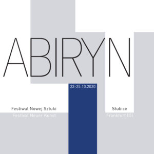 logo Festiwalu Nowej Sztuki lAbiRynT 2020