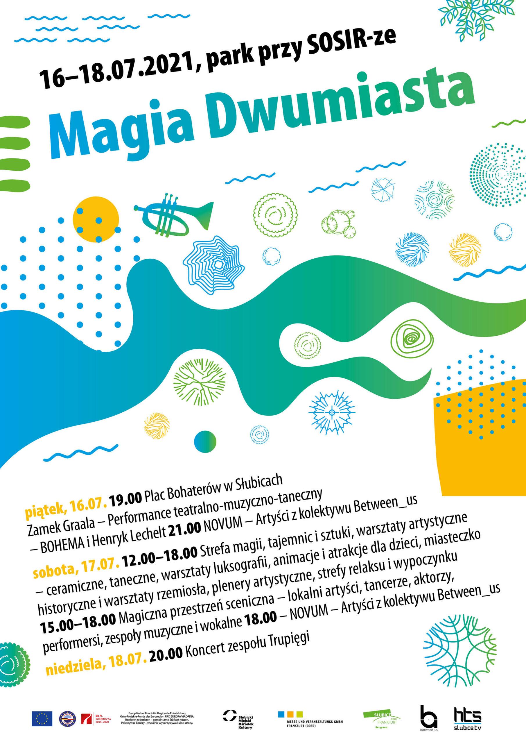Magia Dwumiasta plakat PL