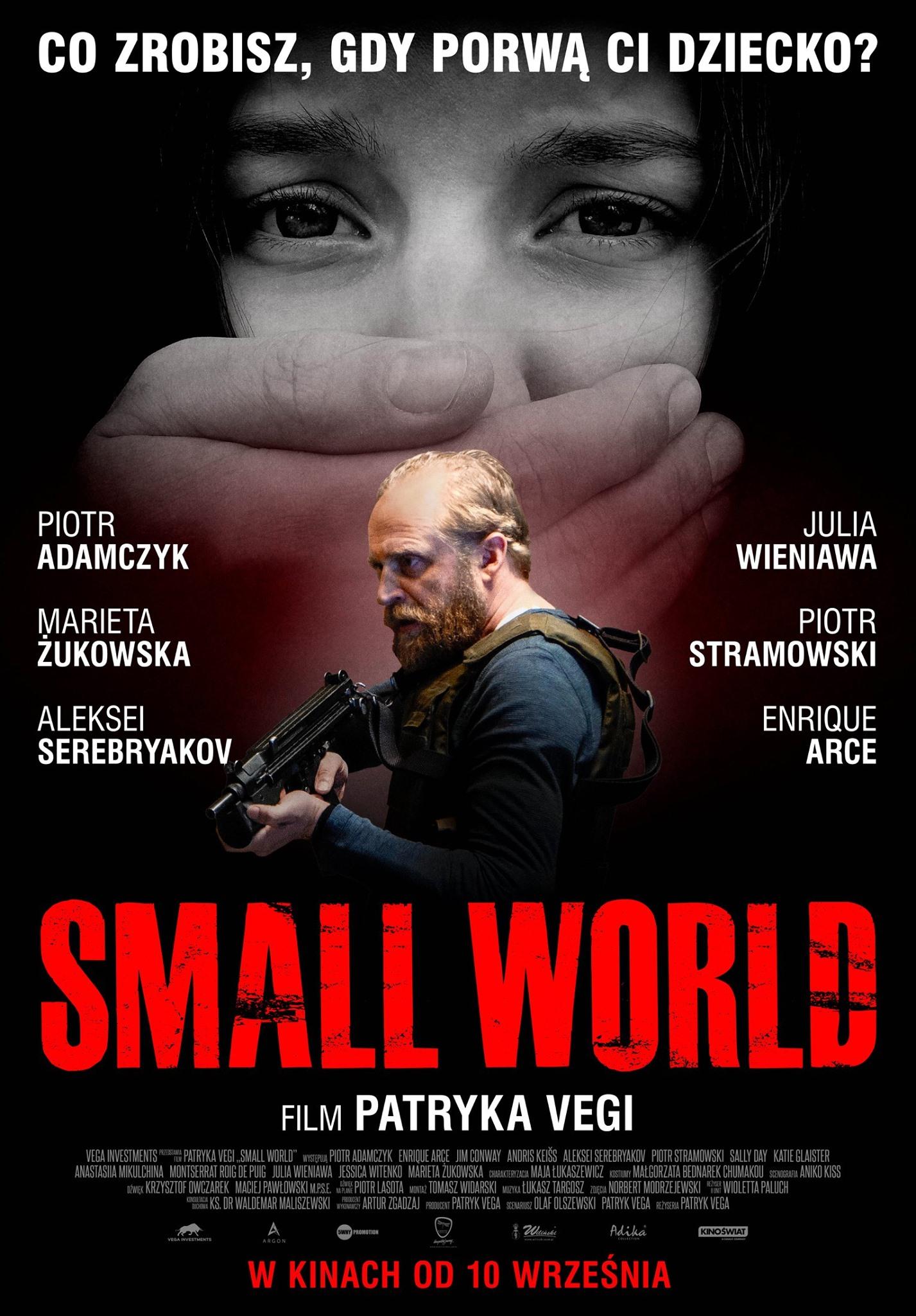 Small world plakat