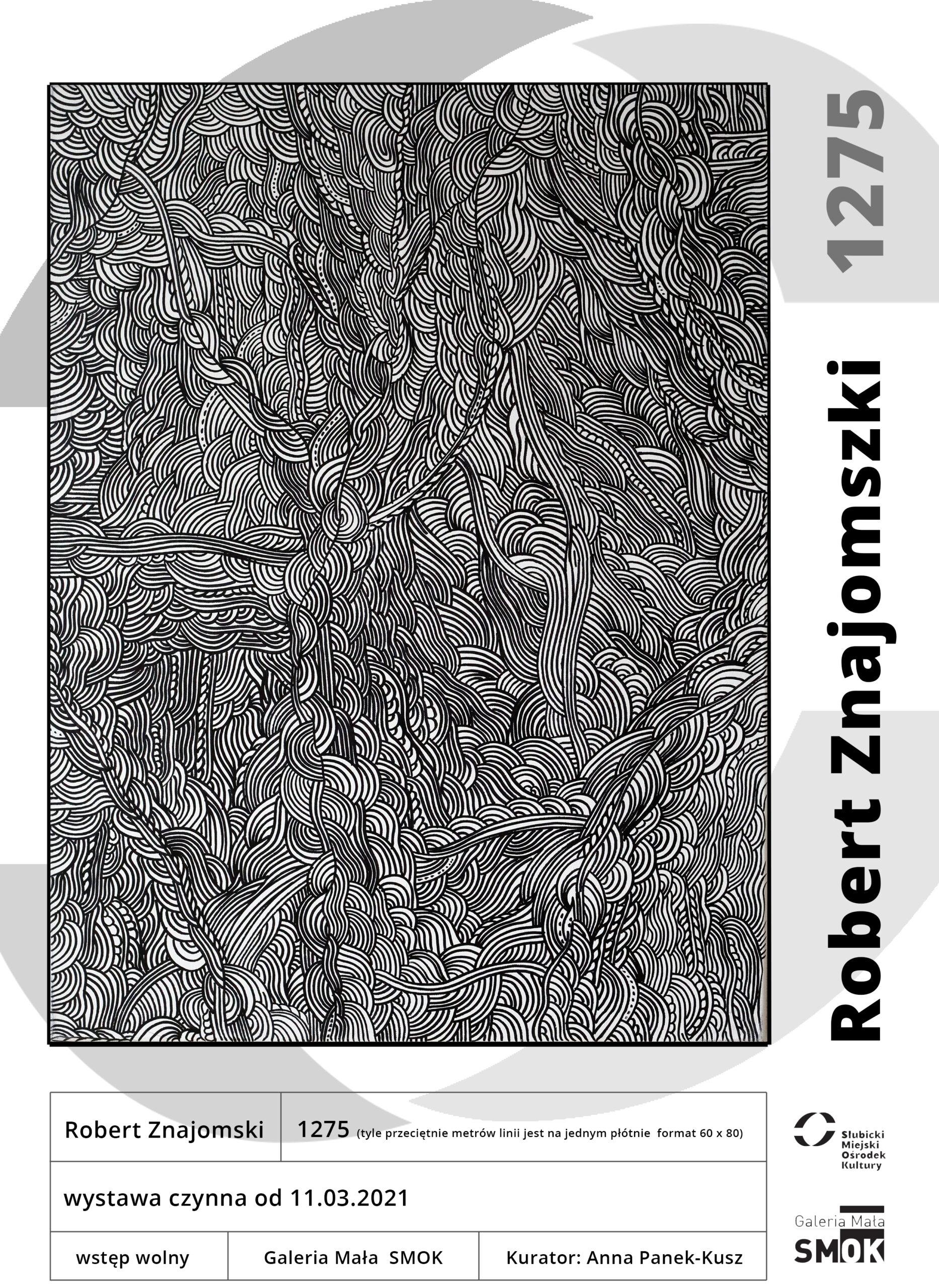 plakat Robert Znajomski